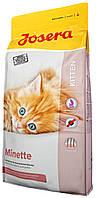 Сухой корм для котят, беременных и кормящих кошек Josera Minette 10 кг
