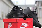 Мужские кроссовки Nike Air Max Hyperfuse (черные), фото 3