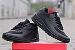 Мужские кроссовки Nike Air Max Hyperfuse (черные), фото 2