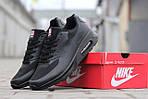 Мужские кроссовки Nike Air Max Hyperfuse (черные), фото 6