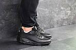 Мужские кроссовки Nike Air Max Hyperfuse (черные), фото 7