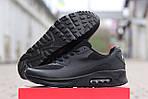 Мужские кроссовки Nike Air Max Hyperfuse (черные), фото 8