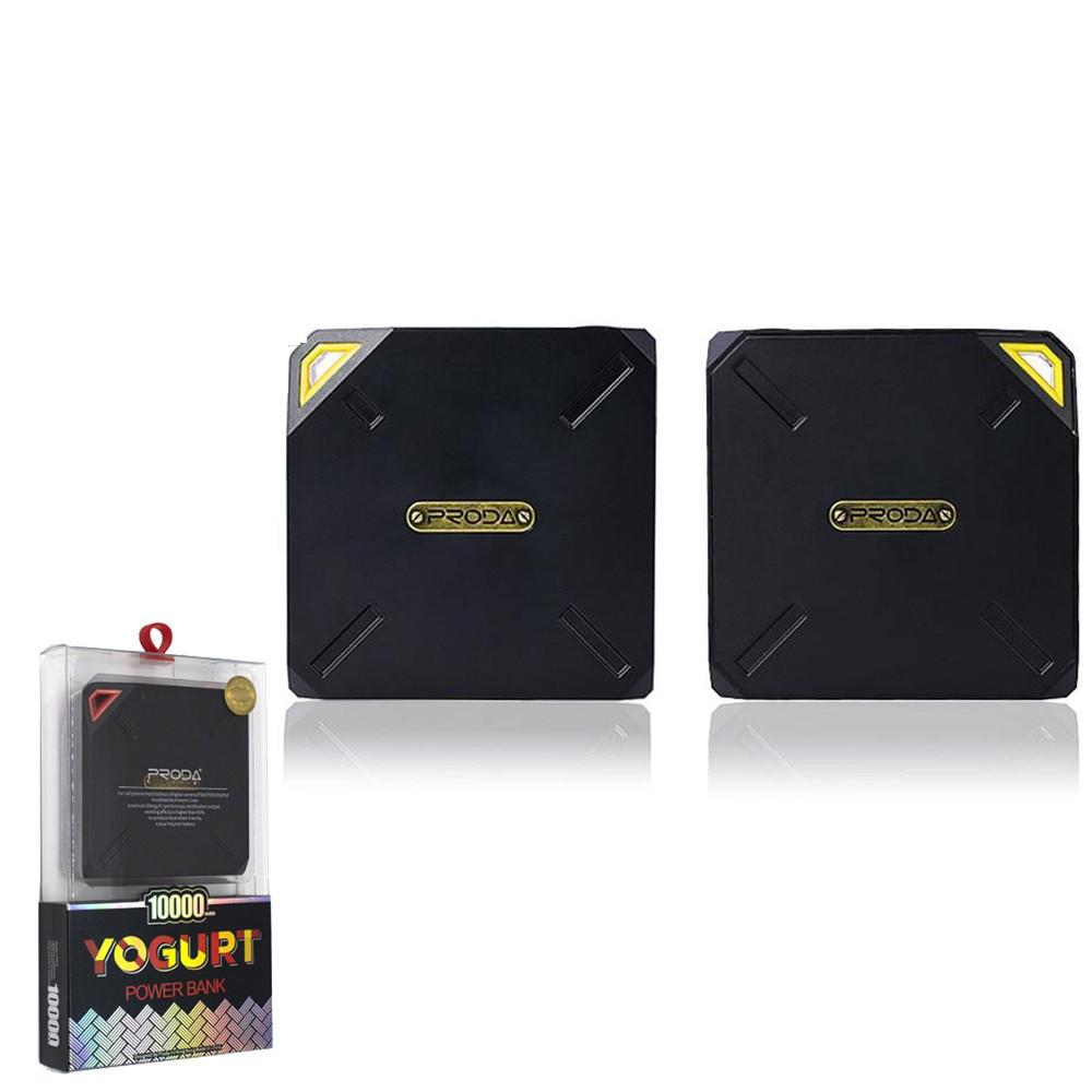 Портативное зарядное устройство (Power Bank) REMAX Power Bank Yogurt PPP-6 10000 mAh Yellow