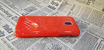 Чохол накладка Glitter на Samsung J5 (2017), J530 Red