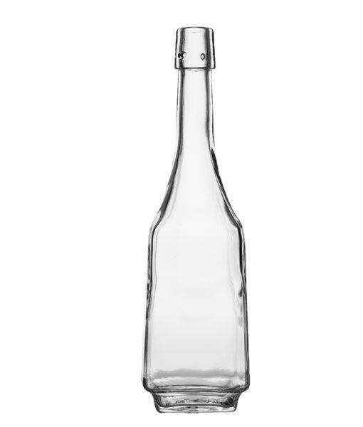 Бутылка прозрачная Гусь с бугельной пробкой 500мл
