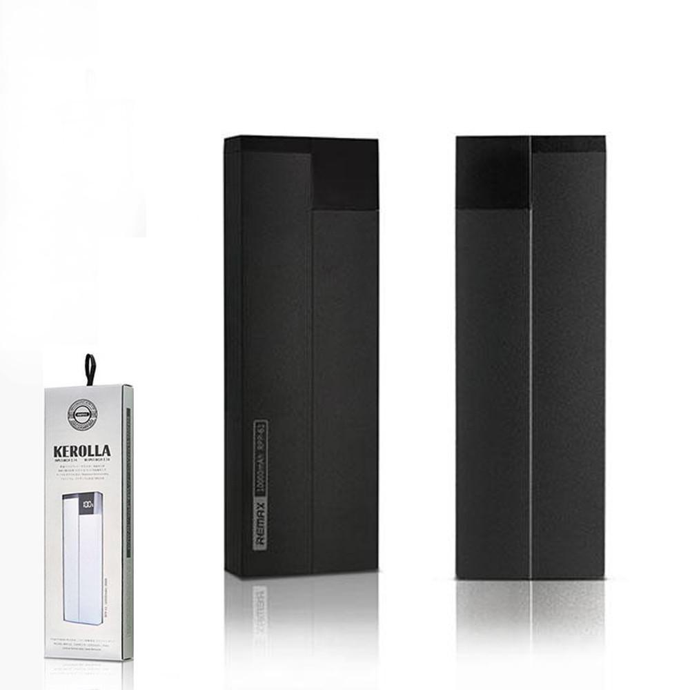 Портативний зарядний пристрій (Power Bank) REMAX Power Bank Kerolla Series PPP-20 10000 mAh Black