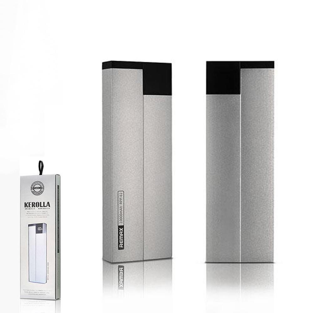 Портативное зарядное устройство (Power Bank) REMAX Power Bank Kerolla Series PPP-20 10000 mAh Silver