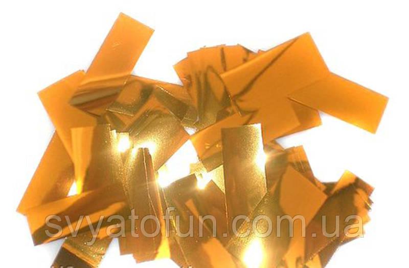 Конфетти Метафан, цвет золото, 250 г