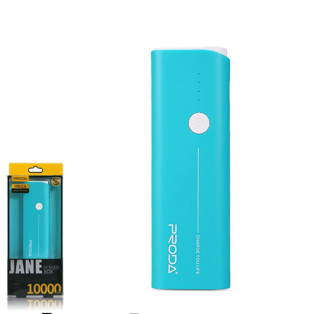 Портативное зарядное устройство (Power Bank) Remax Jane PPL-9 10000mAh Blue