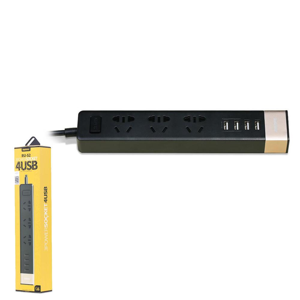 Сетевой фильтр Remax Business RU-S2 Black