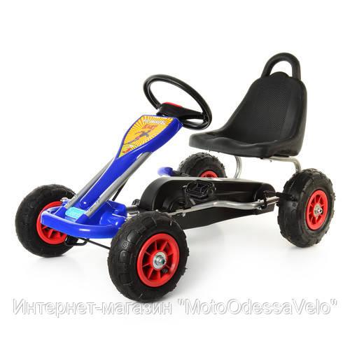 Педальная машинка Bambi КАРТ M 1564-4