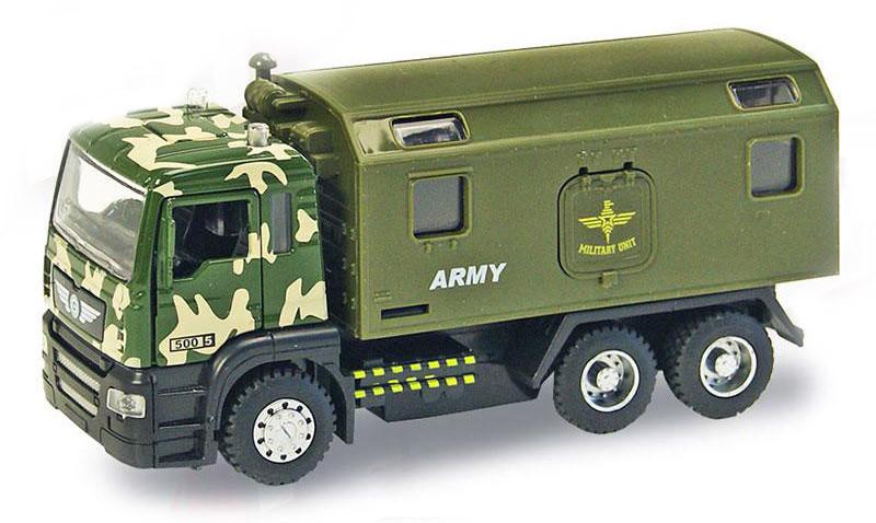 Машина металлическая Автопром 5005 Военный грузовик