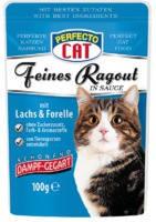 Perfecto Cat Feines Ragout Salmon 100 гр.