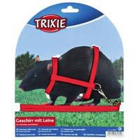 Trixie Шлейка-Поводок для крысы 12-25см