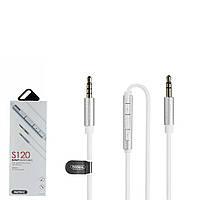 Аудио кабель Remax Smart AUX RL-S120 White