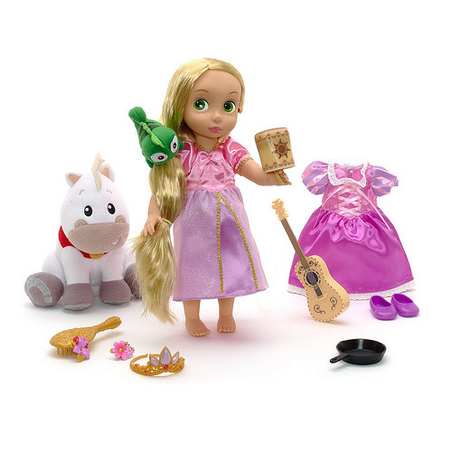 Disney - Rapunzel Doll Gift Set