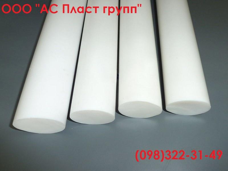 Фторопласт Ф-4, стержень, диаметр 25.0 мм, длина 1000 мм.
