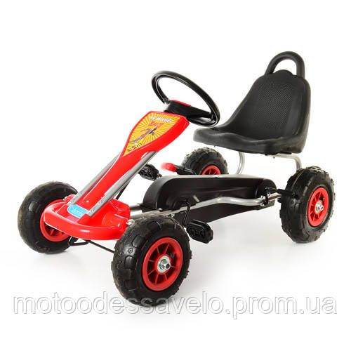 Педальная машинка Bambi КАРТ M 1564-3