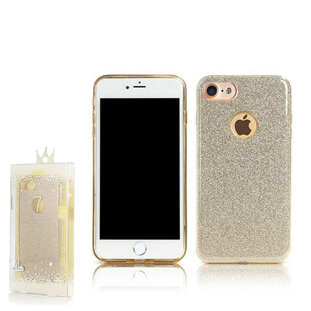 Чехол Remax Glitter iPhone 7 Plus Gold