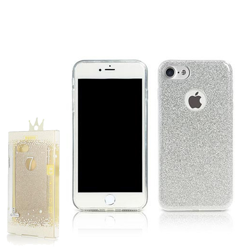 Чехол Remax Glitter iPhone 7 Silver