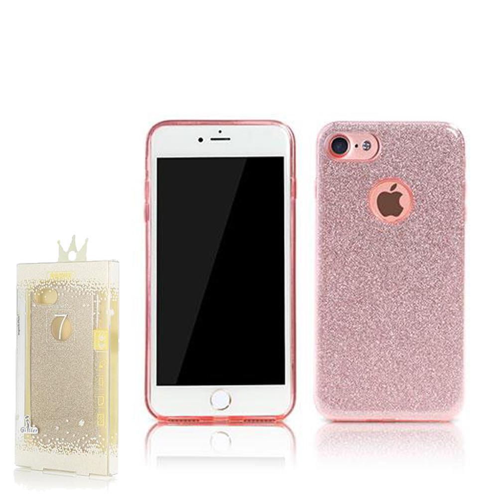 Чехол Remax Glitter iPhone 7 Plus Pink