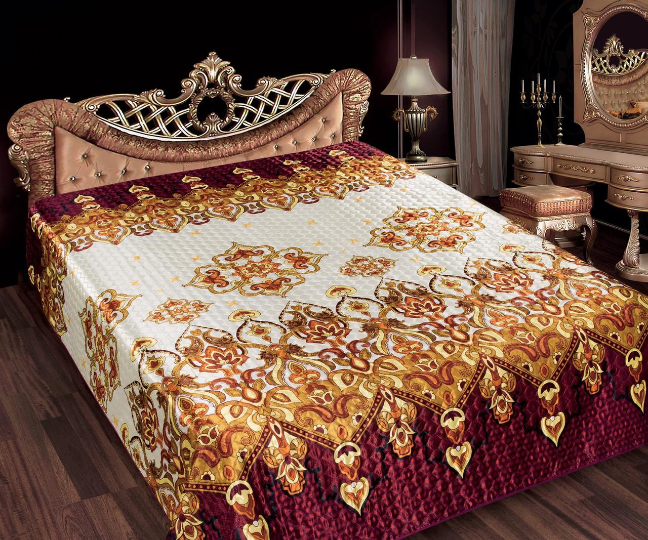 Шелк Gold 36 Янтарь Love You Покрывало 200*220