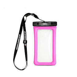 Водонепроницаемый чехол Remax RT-W2/W2 plus waterproof bag Pink