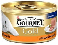 Gourmet Gold Паштет с индейкой 85 гр