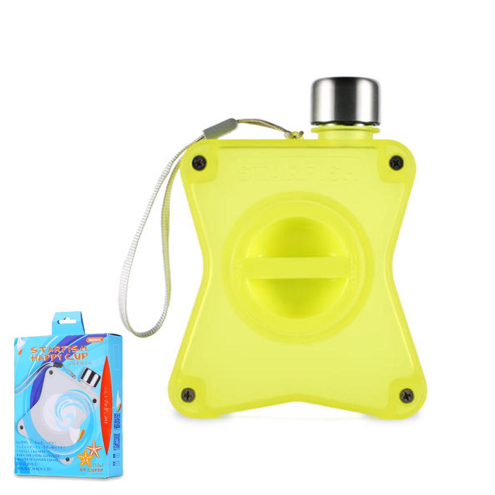 Пляшка для води Remax Starfish Happy Cup RT-CUP37 Yellow