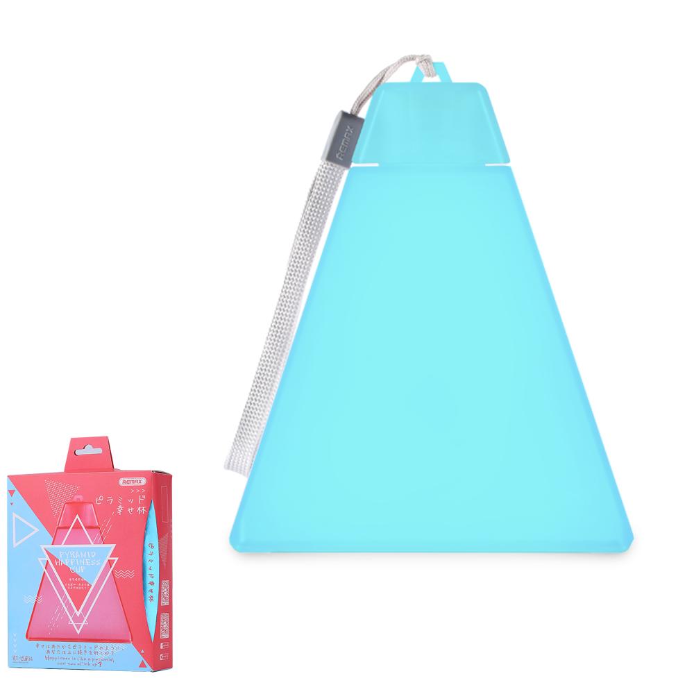 Пляшка для води Remax Pyramid Happinese Cup RT-CUP34 Blue
