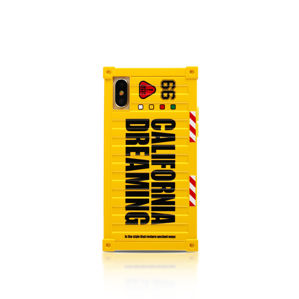 Чехол Remax California Dreaming Case for iPhone X Yellow