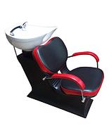 Мойка парикмахерская Lady Clio с керамикой Гарсон, креслом и сантехникой, фото 1