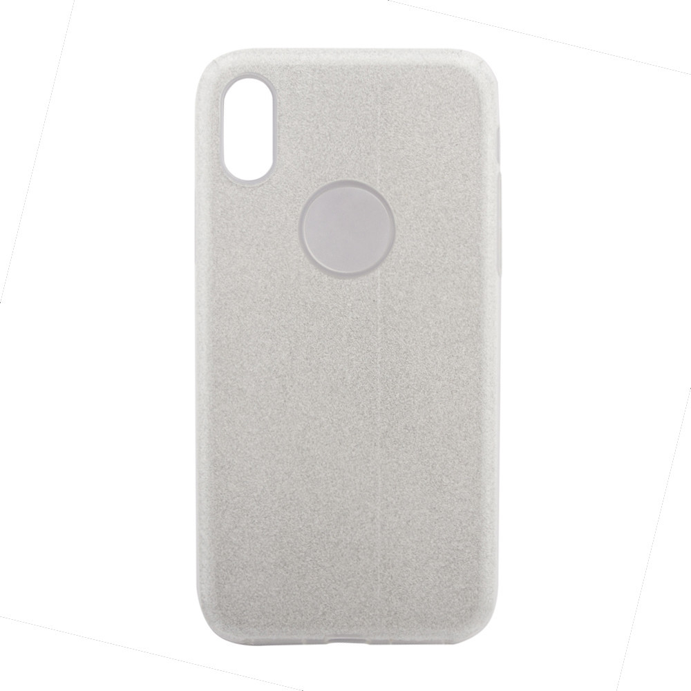 Чехол Remax Glitter Case for iPhone X Silver