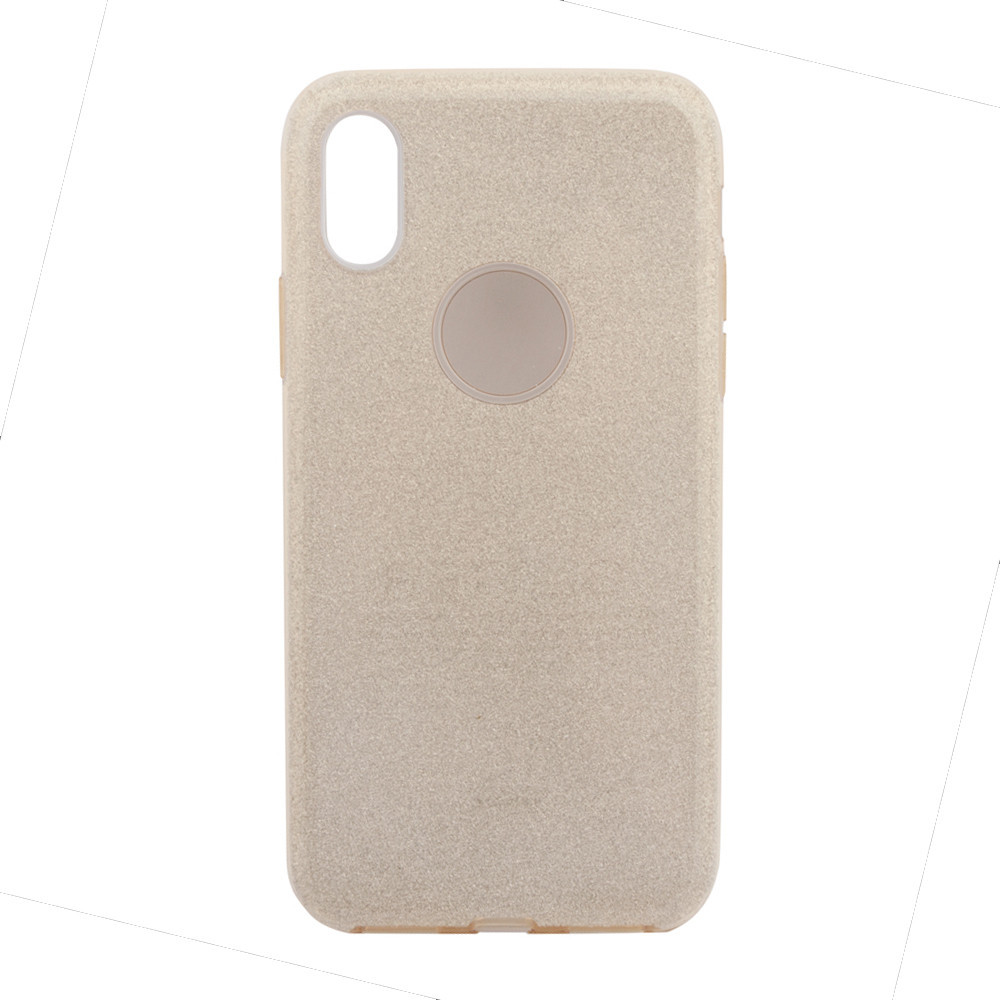 Чехол Remax Glitter Case for iPhone X Gold