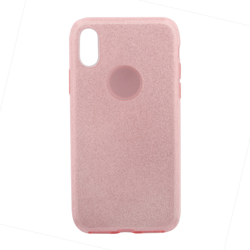 Чехол Remax Glitter Case for iPhone X Pink