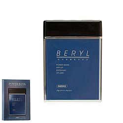 Портативний зарядний пристрій (Power Bank) REMAX Power Bank Beryl Series RPP-69 8000 mAh Blue