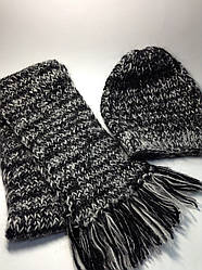 Шапка і шарф (70% вовна, мохер)