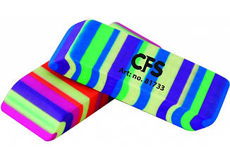 Ластик для карандаша Rainbow, 55*20*10 мм, ассорти