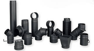 Димоходи з чорної сталі 2 мм