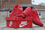Мужские кроссовки Nike Air Max Hyperfuse (красные), фото 5