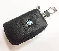 Чохол з карабіном BMW (ключниця)