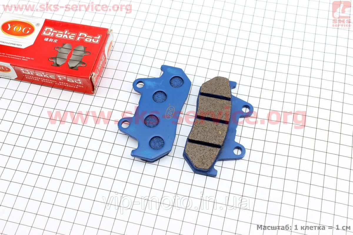 Тормозные колодки (дисковые) CBT-125/ Honda WH-125