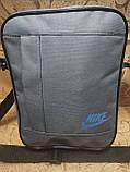 (24*19-большое)Спортивные барсетка NIKE Оксфорд ткань сумка для через плечо только оптом, фото 2