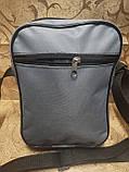 (24*19-большое)Спортивные барсетка NIKE Оксфорд ткань сумка для через плечо только оптом, фото 4