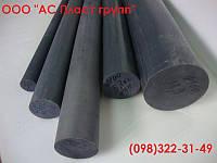 Фторопласт Ф4К20, стержень, графитонаполненный, диаметр 100.0 мм, длина 1000 мм.