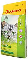 Сухой корм для взрослых кошек с чуствительным пищеварением Josera SensiCat 2 кг