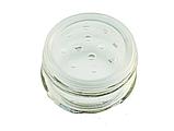 Емкость для специй 80 мл стеклянная с мелкой сеткой коричневая Everglass, фото 2