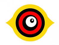 Изображение глаз 1, птичий отпугиватель, пластиковый, пленка оракал, бликует на солнце, размеры индивидуально