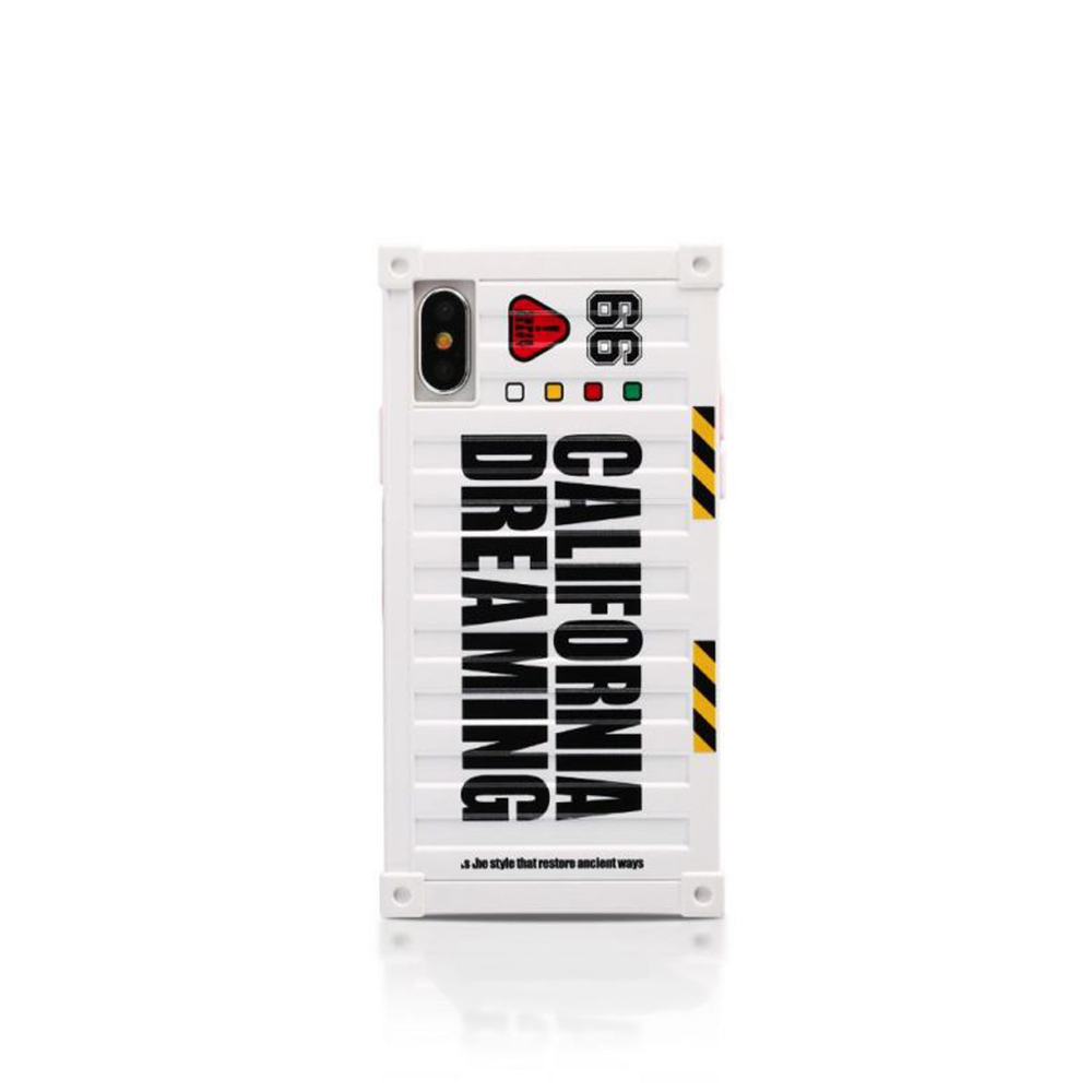 Чехол Remax California Dreaming Case for iPhone X White
