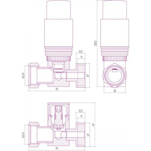 Терморегулятор прямого действия